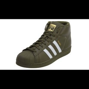 Adidas Originals Pro Model Shell Toe- Olive Green